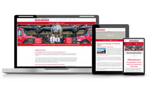 Move Solutions moving company website project